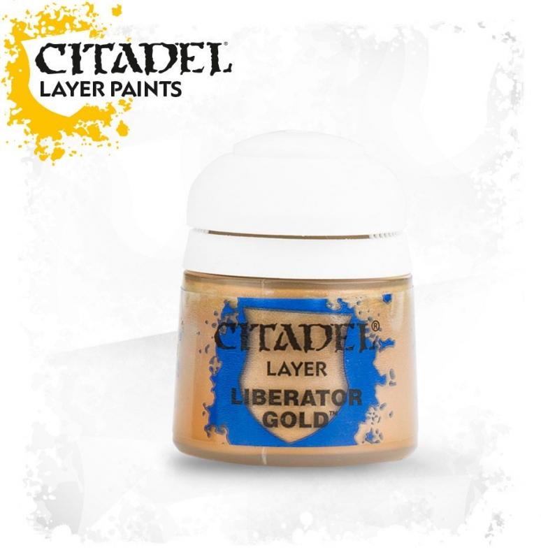 Layer - Liberator Gold (oro metallizzato)