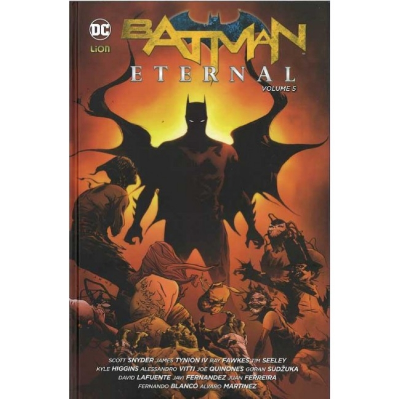 BATMAN ETERNAL VOL.5 - NEW 52 LIMITED 75