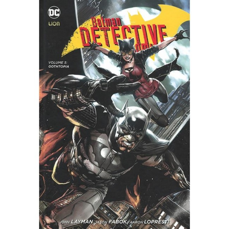 BATMAN DETECTIVE COMICS VOL.5: GOTHOPIA - NEW 52 LIMITED 74
