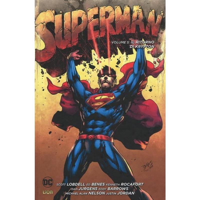 SUPERMAN VOL.5: IL RITORNO DI KRYPTON - NEW 52 LIMITED 76