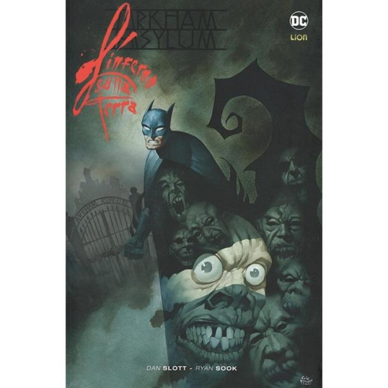 BATMAN ARKHAM ASYLUM - L'INFERNO SULLA TERRA - BATMAN LIBRARY 38