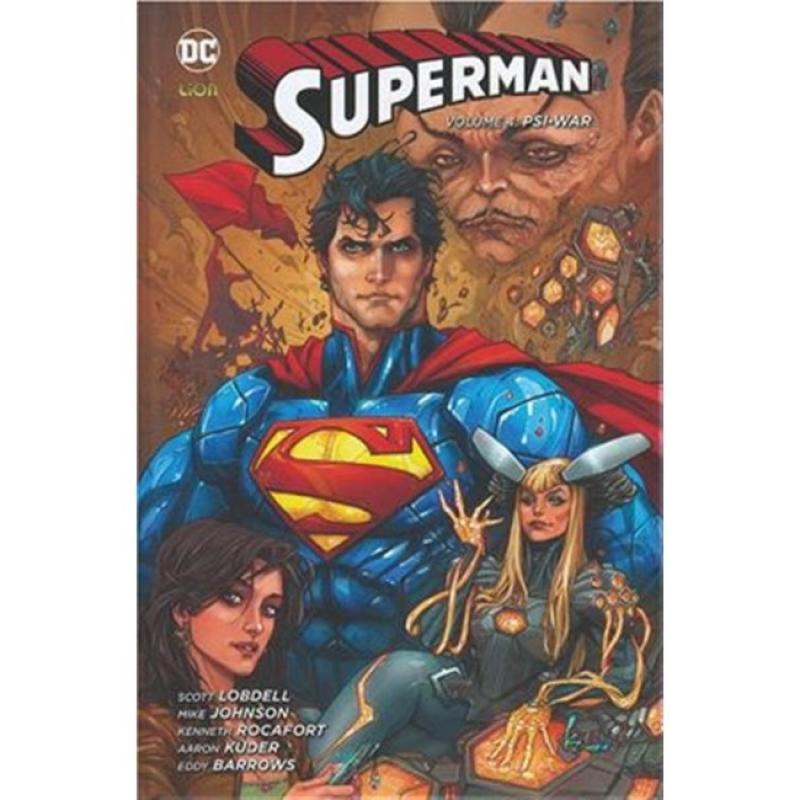 SUPERMAN VOL.4: PSI-WAR - NEW 52 LIMITED 54