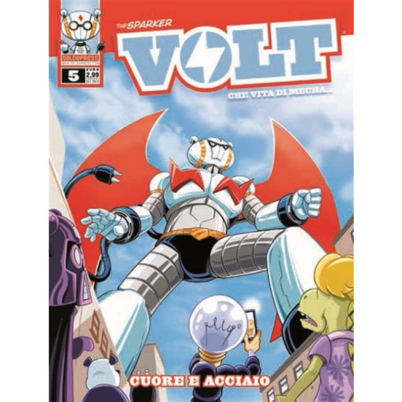 VOLT - CHE VITA DI MECHA 5