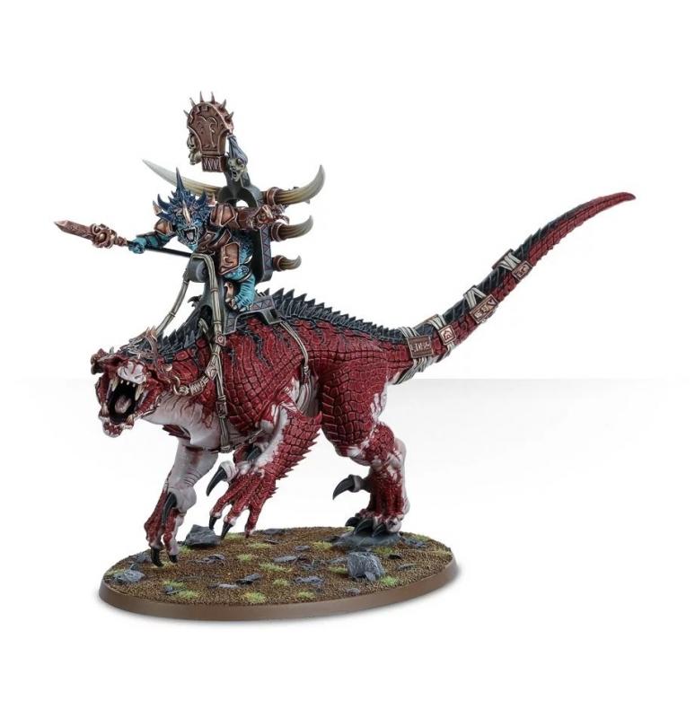 Saurus Oldblood on Carnosaur