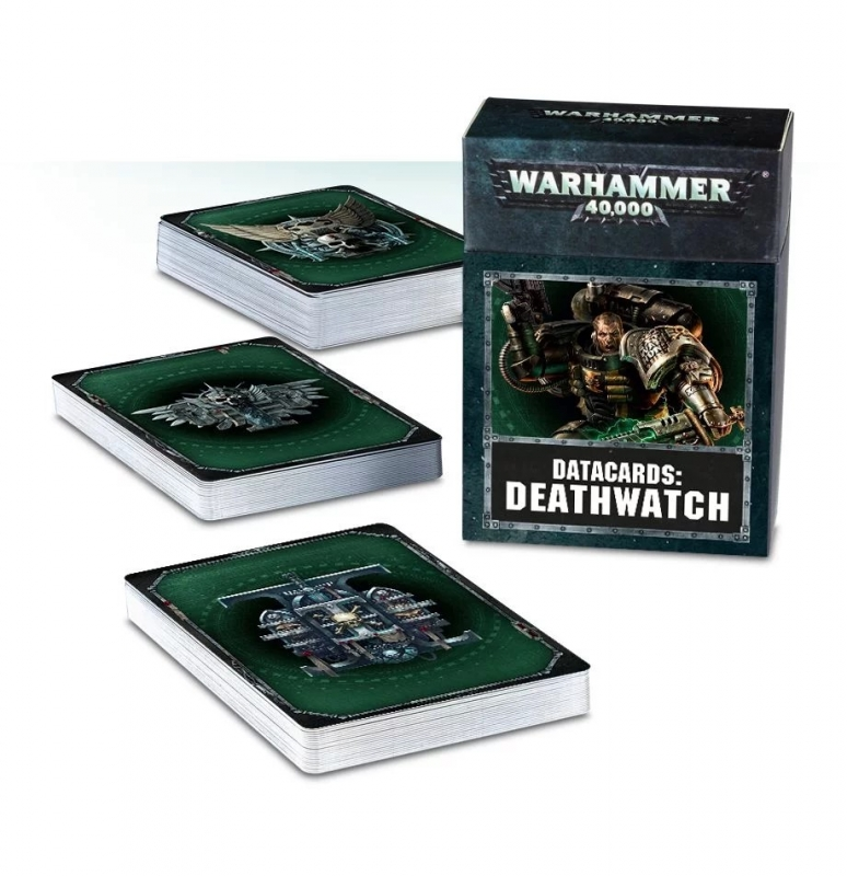 Datacards: Deathwatch (Italiano)