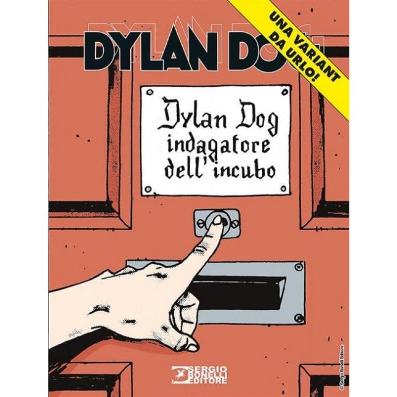 DYLAN DOG 374 - VARIANT DA URLO