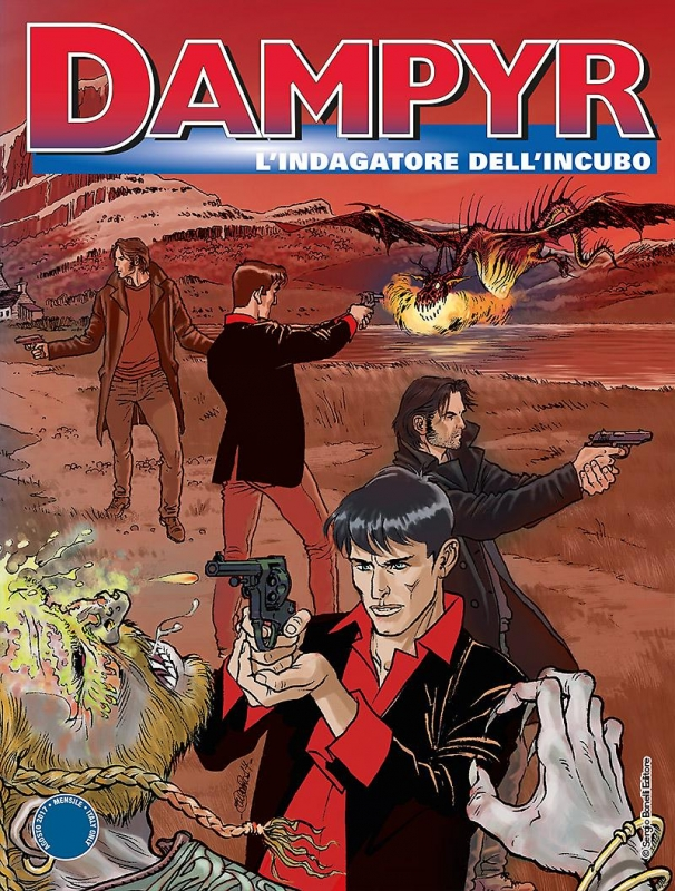DAMPYR 209 FUMETTERIA - L'INDAGATORE DELL'INCUBO - VARIANT