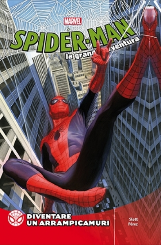 SPIDER-MAN LA GRANDE AVVENTURA 15 - DIVENTARE UN ARRAMPICAMURI