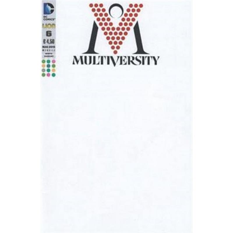 MULTIVERSITY 6 - COVER VARIANT WHITE