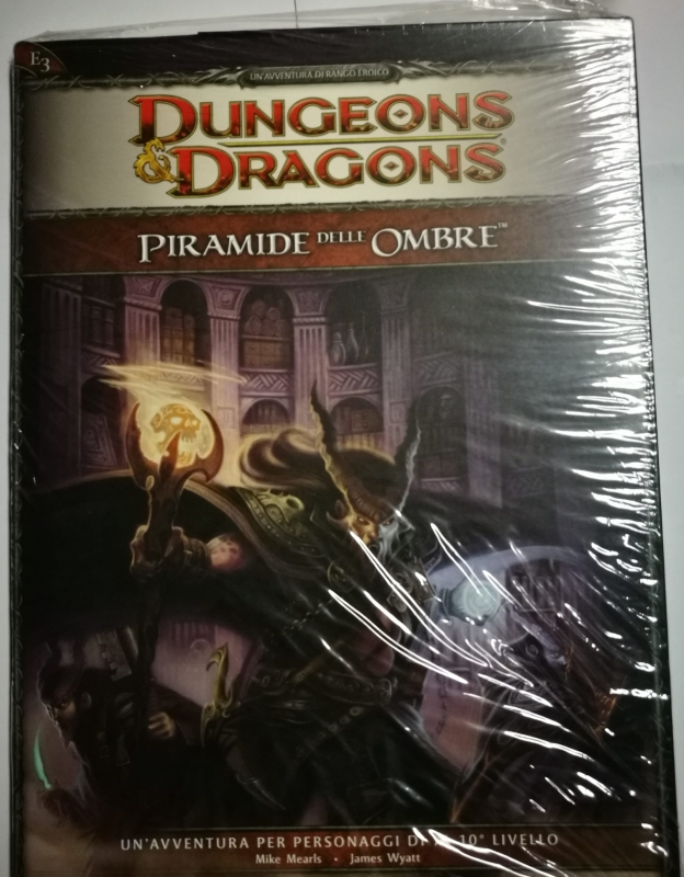 DUNGEONS & DRAGONS 4.0 - PIRAMIDE DELLE OMBRE