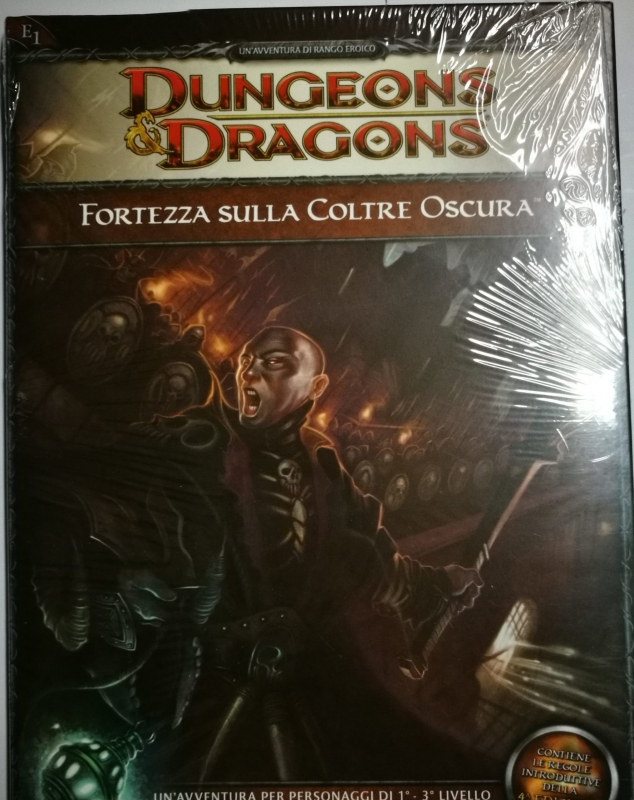 DUNGEONS & DRAGONS 4.0 - FORTEZZA SULLA COLTRE OSCURA