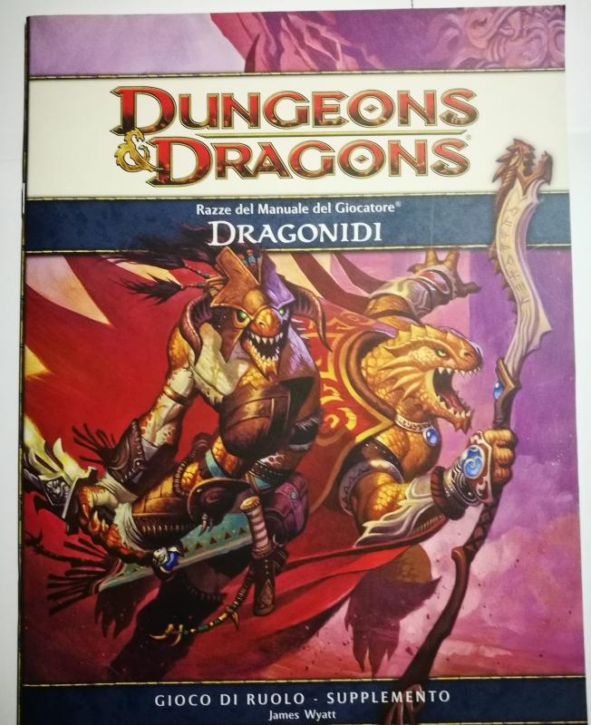 DUNGEONS & DRAGONS 4.0 - Razze del manuale del Giocatore - DRAGONIDI
