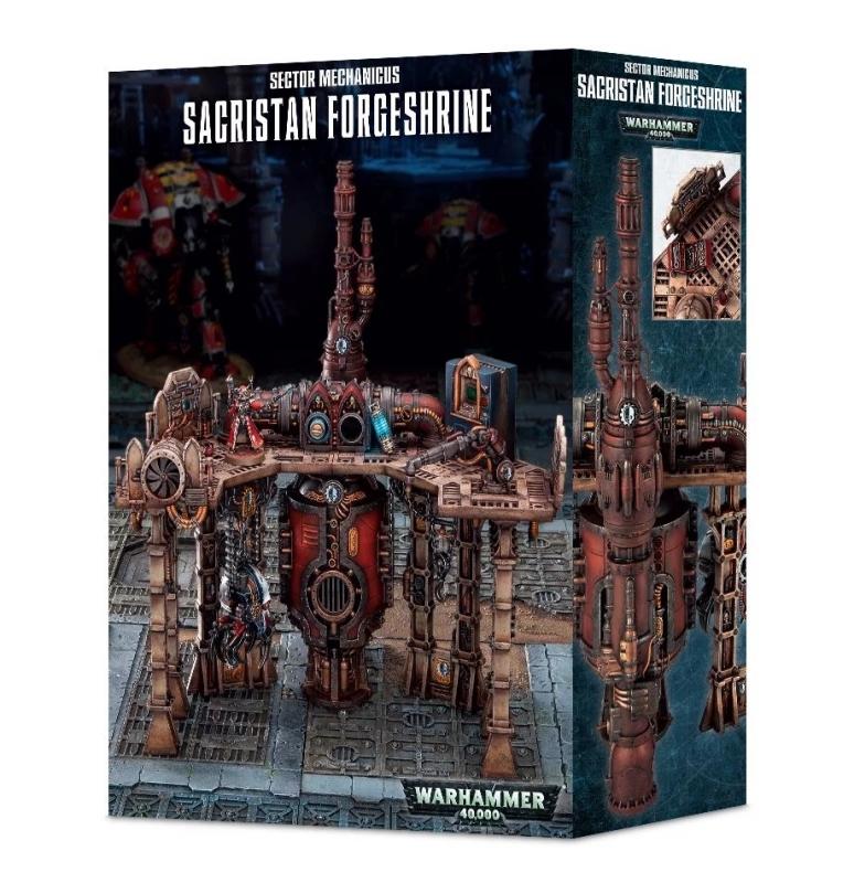 Sector Mechanicus Sacristan Forgeshrine - Scenario Warhammer 40.000