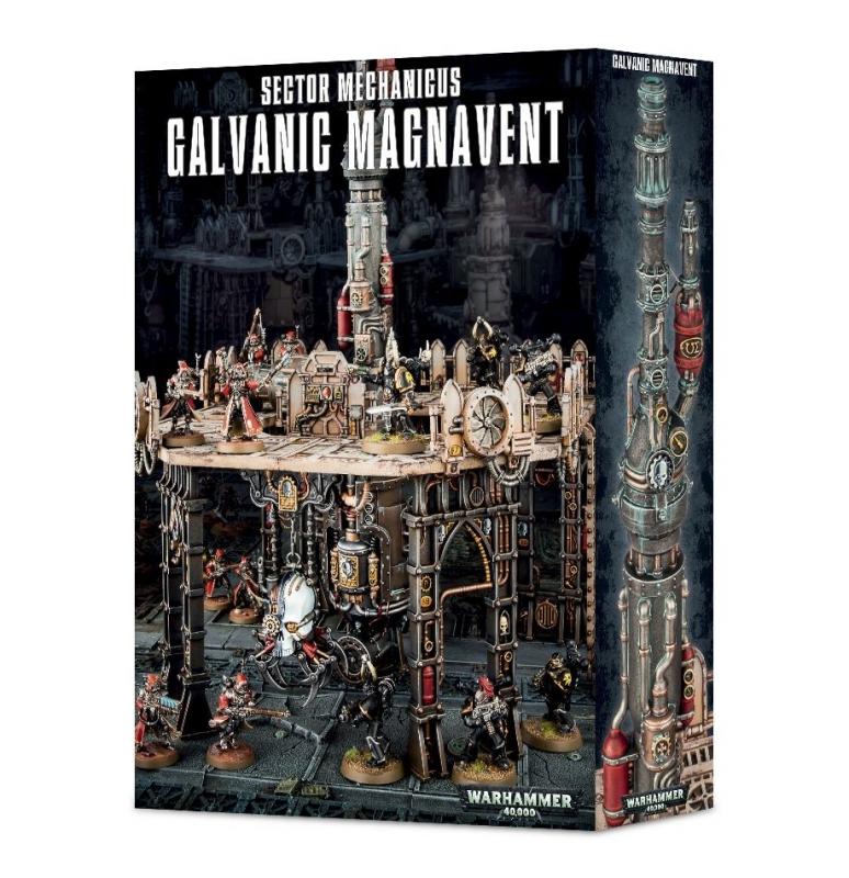 Sector Mechanicus Galvanic Magnavent - Scenario Warhammer 40.000