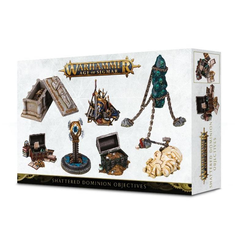 Obiettivi Shattered Dominion di Warhammer Age of Sigmar