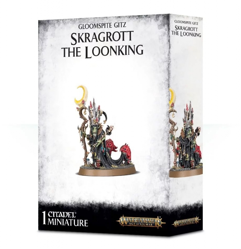 Skragrott the Loonking - Gloomspite Gitz