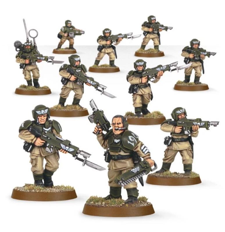 Astra Militarum - Cadian Shock Troops