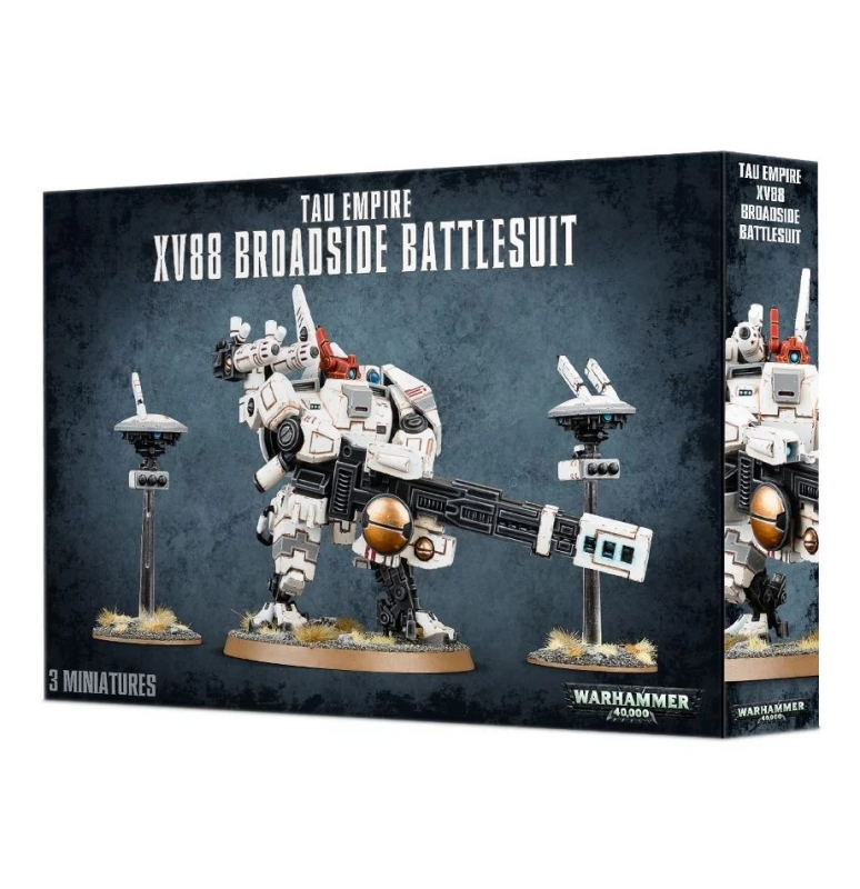 Impero Tau - XV88 Broadside Battlesuit