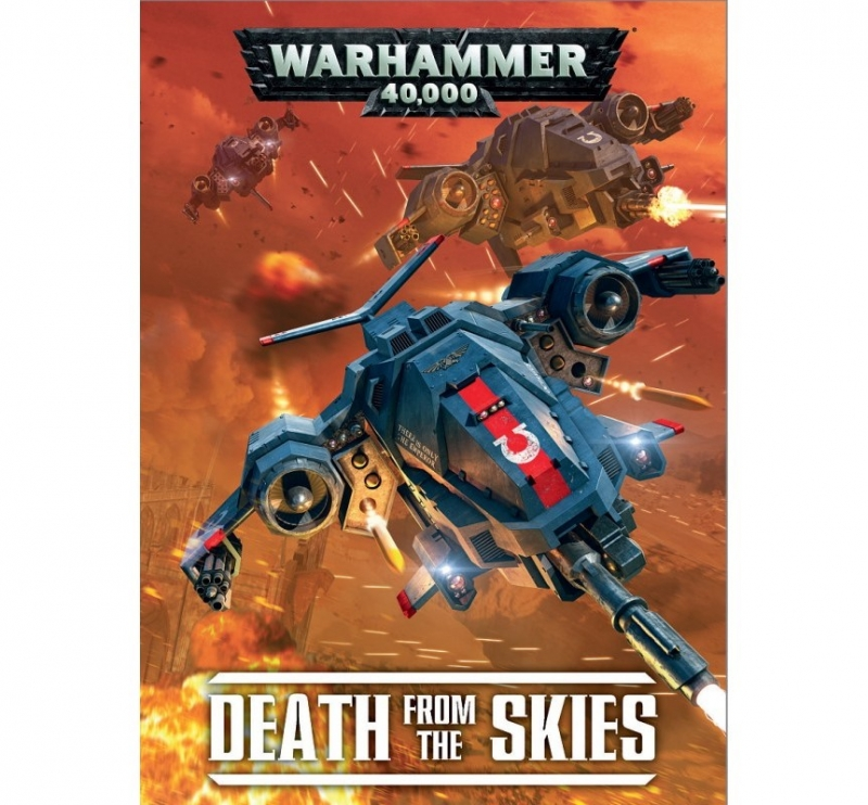 WARHAMMER 40.000 SUPPLEMENTO: DEATH FROM THE SKIES (Italiano)