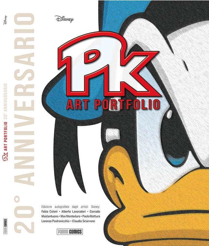 PK ART PORTFOLIO RARITA` D`ARTISTA SPECIALE 20 ANNIVERSARIO