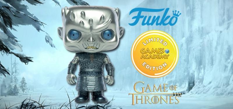 GAME OF THRONES - POP FUNKO FIGURE 44 NIGHT KING (METALLIC) -GAMES ACADEMY ESCLUSIVE
