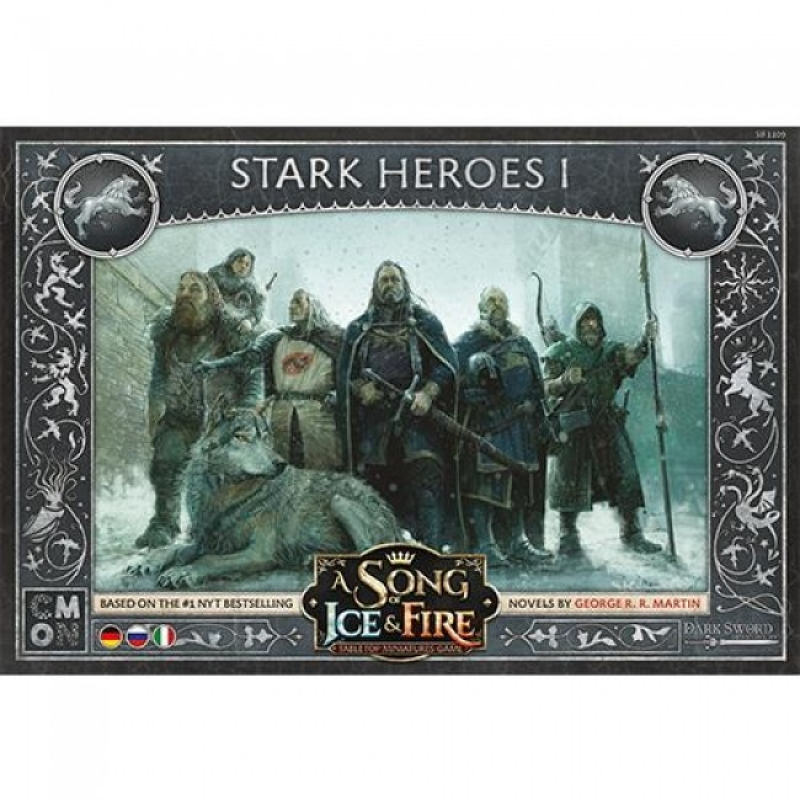 EROI STARK 1 - A SONG OF ICE & FIRE: MINIATURE GAME