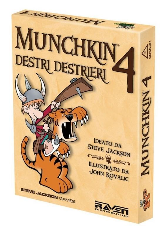 MUNCHKIN 4 DESTRI E DESTRIERI - Nuova Edizione