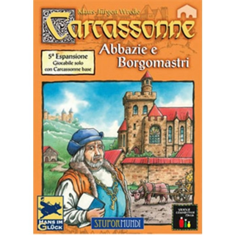 CARCASSONNE - ABBAZIE E BORGOMASTRI - 5^ Espansione