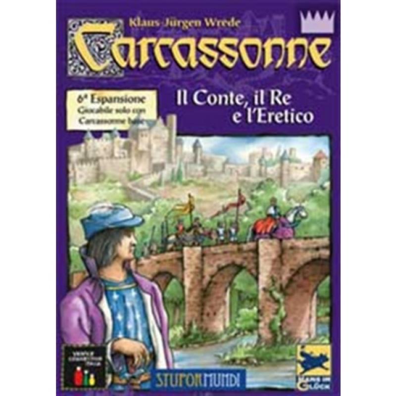 CARCASSONNE - IL CONTE, IL RE E L'ERETICO - 6^ Espansione