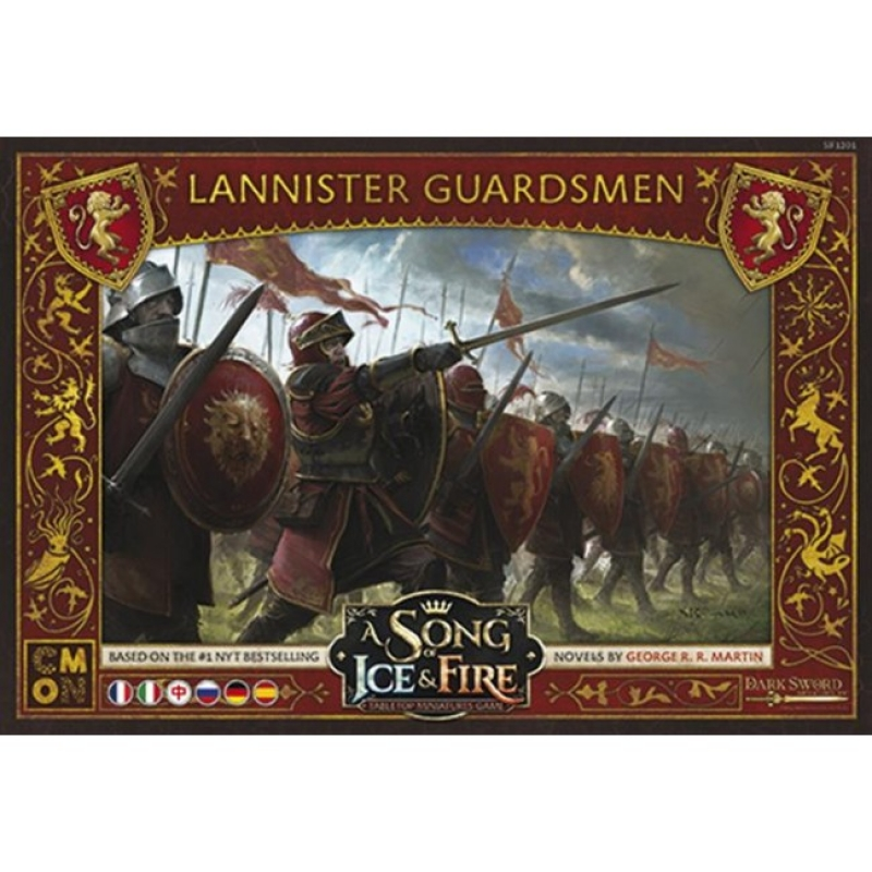 GUARDIE LANNISTER - A SONG OF ICE & FIRE: MINIATURE GAME