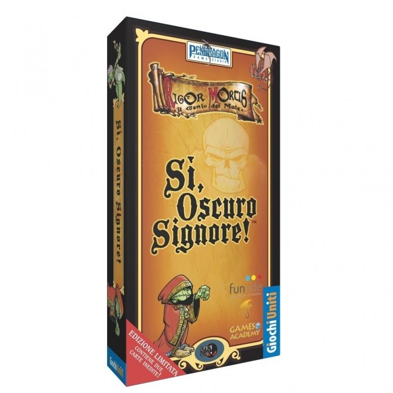 SI, OSCURO SIGNORE - GAMES ACADEMY EDITION