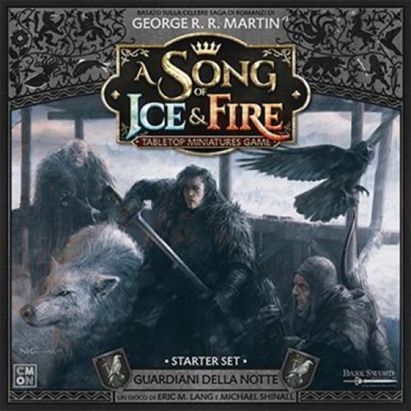 A SONG OF ICE & FIRE: MINIATURE GAME -STARTER SET GUARDIANI DELLA NOTTE
