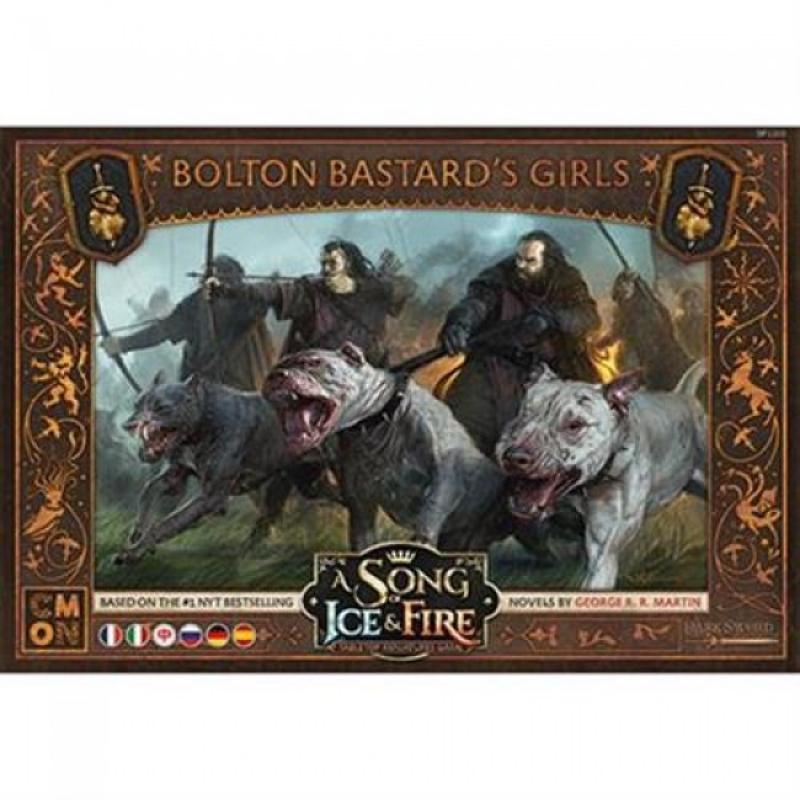 A SONG OF ICE & FIRE: MINIATURE GAME - RAGAZZE DEL BASTARDO BOLTON