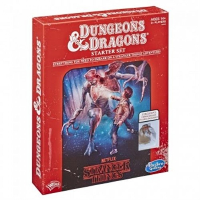 D&D 5.0 - DUNGEONS AND DRAGONS STRANGER THINGS STARTER SET - ENG