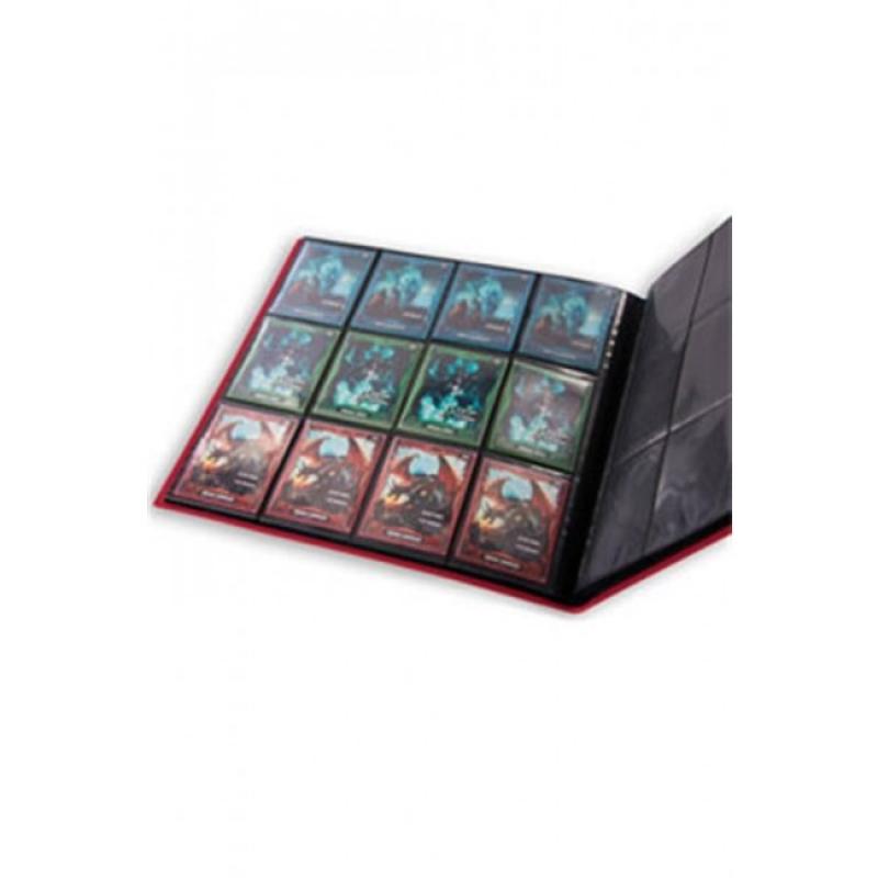 12 POCKET QUADROW FLEXXFOLIO ALBUM - RED