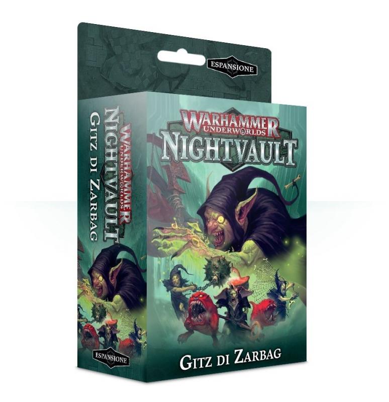 Warhammer Underworlds: Nightvault – Gitz di Zarbag