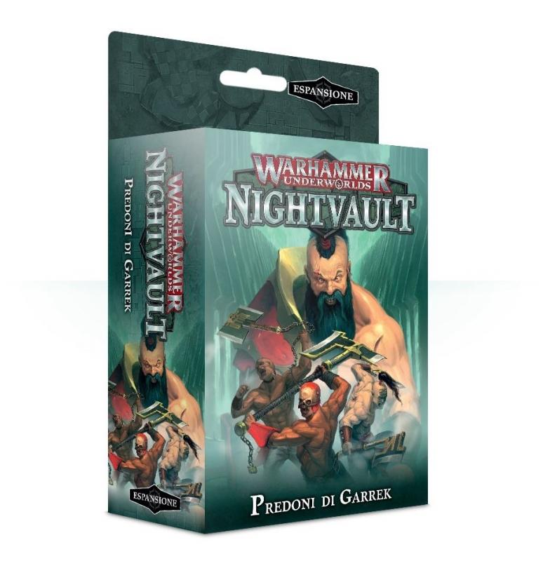 Warhammer Underworlds: Nightvault – Predoni di Garrek