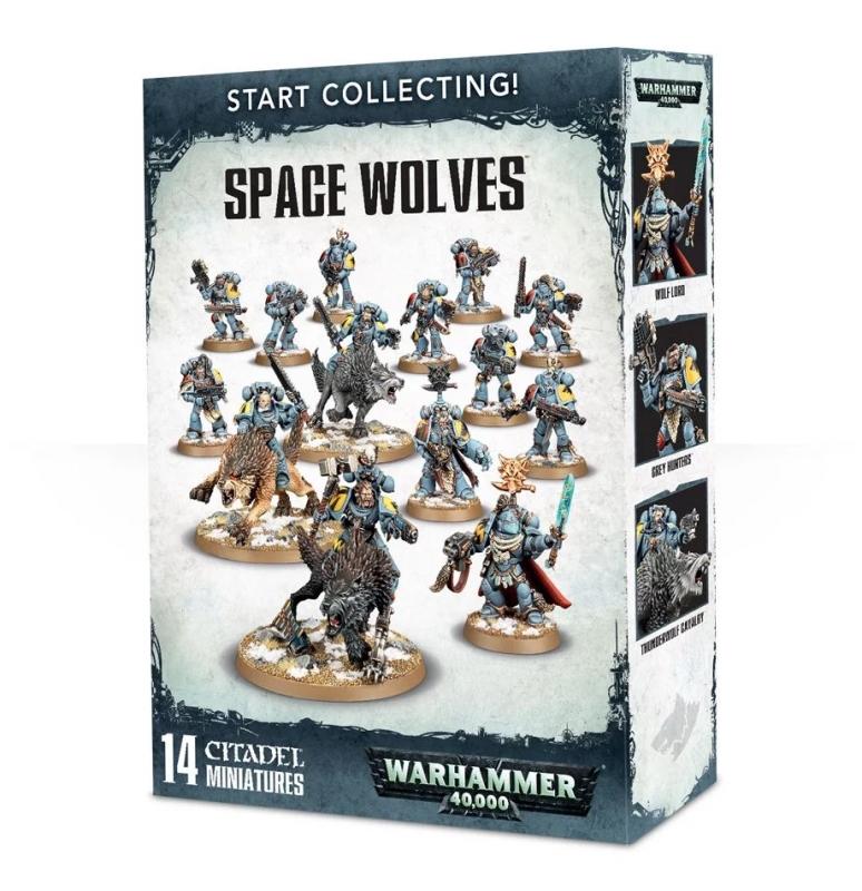 Adeptus Astartes - Start Collecting! Space Wolves