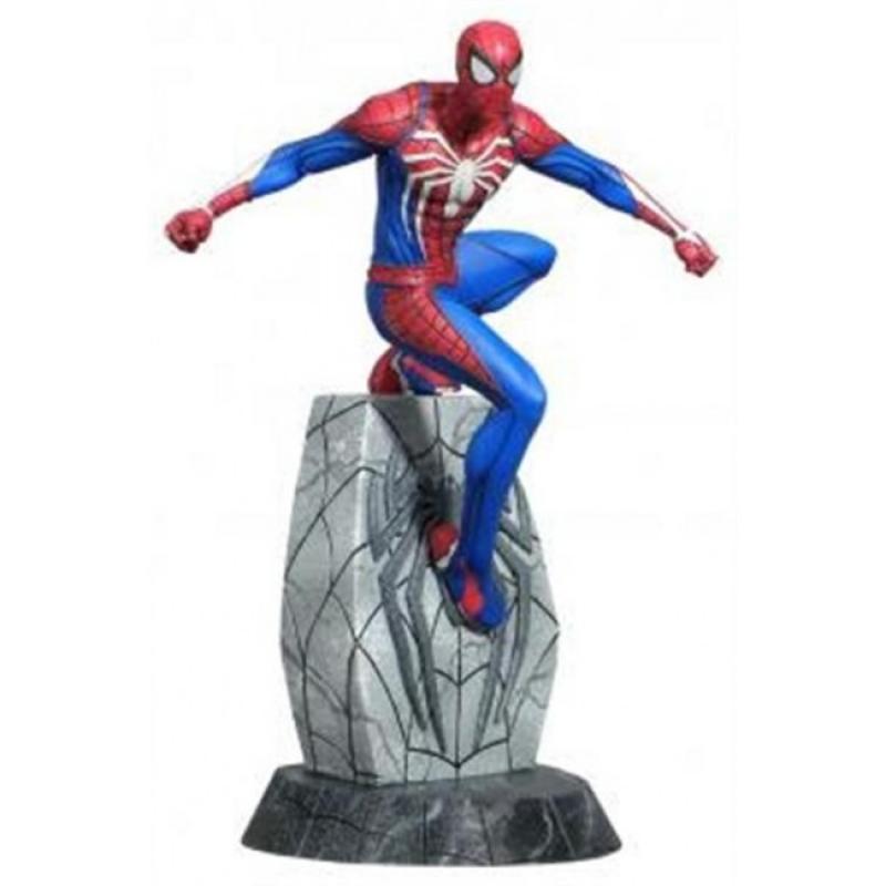 64948 - MARVEL GALLERY SPIDER-MAN PS4 STATUA