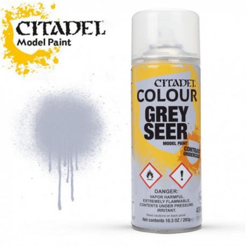SPRAY PRIMER - Grey Seer