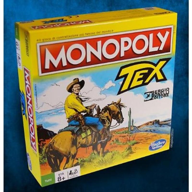 MONOPOLY DI TEX + Volume TEX VENDETTA INDIANA