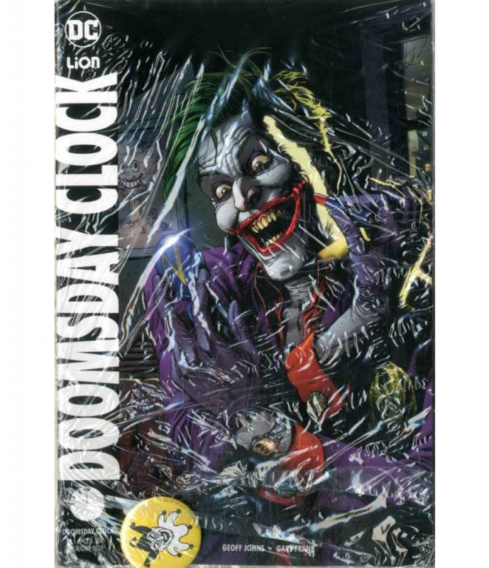 DOOMSDAY CLOCK 5 VARIANT PIN - DC MULTIVERSE