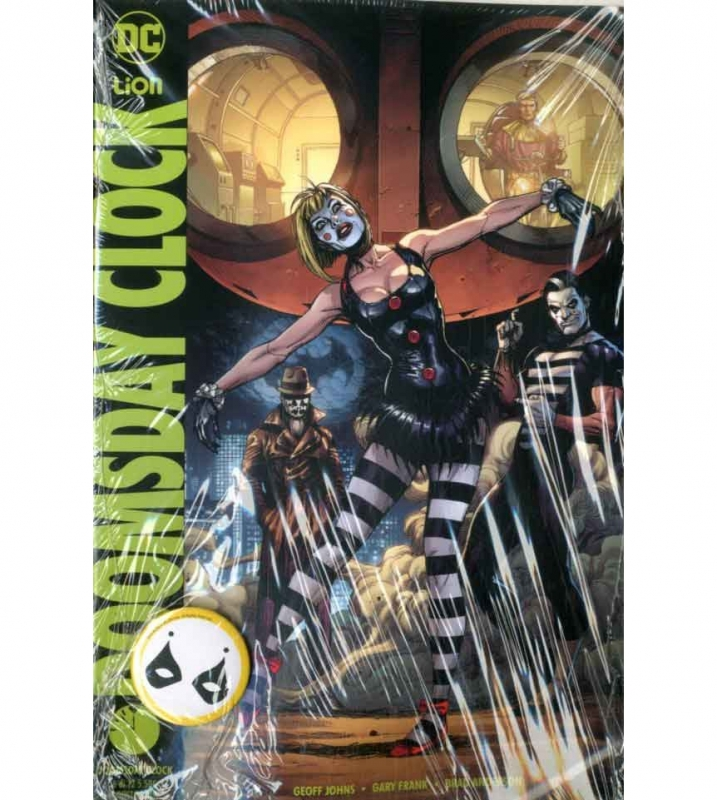 DOOMSDAY CLOCK 6 VARIANT PIN - DC MULTIVERSE