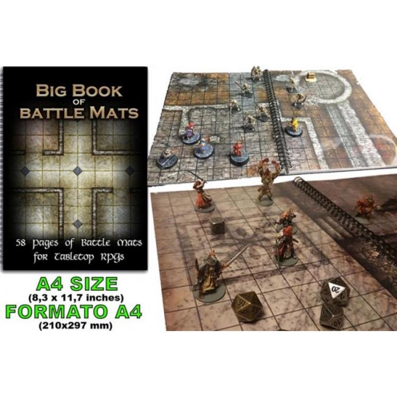 LIBRO TERRENI DI GIOCO GDR - BIG BOOK OF BATTLE MATS