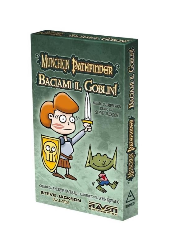 MUNCHKIN PATHFINDER - BACIAMI IL GOBLIN