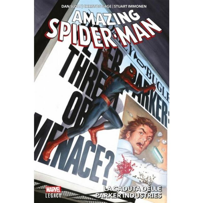 AMAZING SPIDER-MAN (2015) 6 - LA CADUTA DELLE PARKER INDUSTRIES