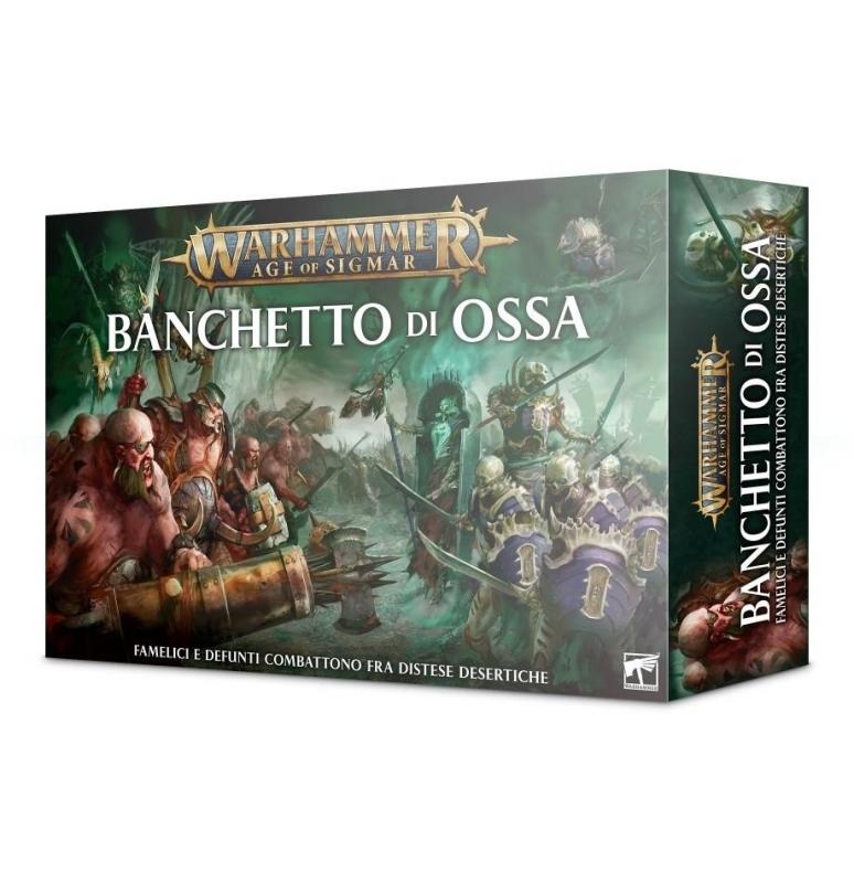 Warhammer Age of Sigmar: Banchetto di Ossa - Scatola base