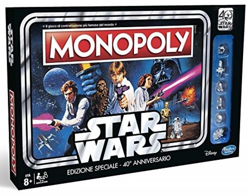 MONOPOLY - STARWARS - Edizione 40° Anniversario