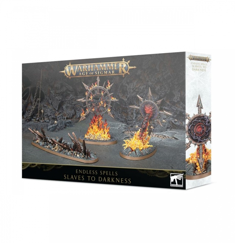 WARHAMMER AGE OF SIGMAR: ENDLESS SPELLS - SLAVES TO DARKNESS