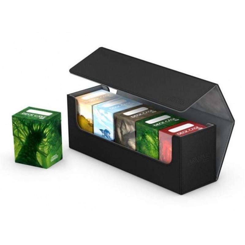 CARD BOX - ARKHIVE 400+ - XENOSKIN BLACK [UGD010654]